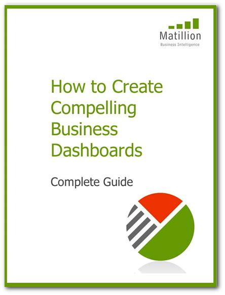 altars made easy a complete guide to creating free e book how to create compelling business dashboards