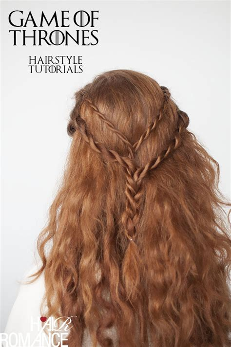 game of thrones hair styles game of thrones hairstyles cersei lannister rope braid