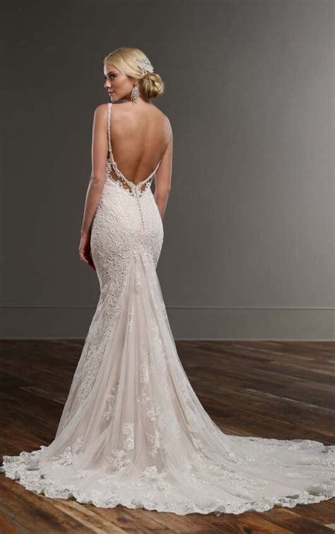 Wedding Dresses With Color And Design by Designer Backless Wedding Gown Martina Liana Wedding Dresses