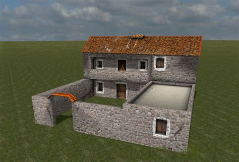 house building simulator medieval greek house building v 1 0 farming simulator 2015 15 mod