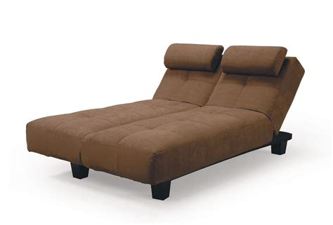 convertible chaise bed sofia java casual convertible sofa bed by lifestyle