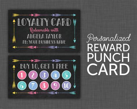 black punch card lula punch card black loyalty card