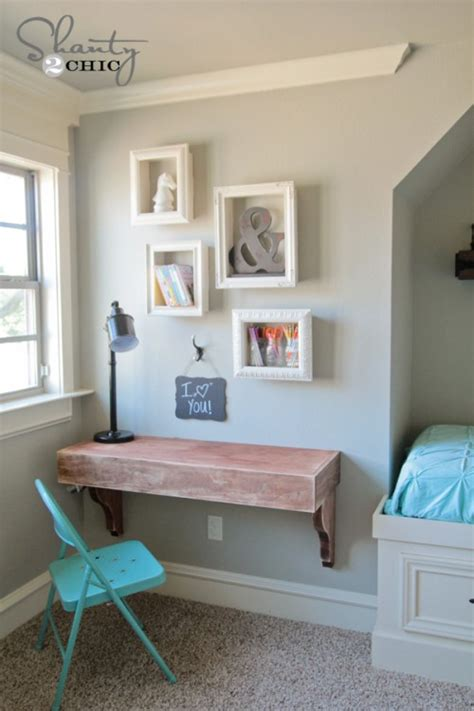 Corner Picture Frame Shelf by Diy Corbel Desk For 85 Shanty 2 Chic