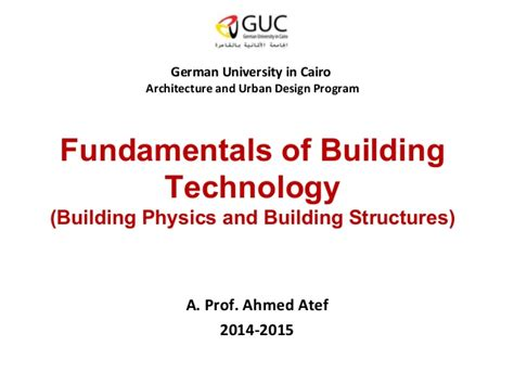 fundamentals of building orientation and layout planning fundamentals of building technology 03