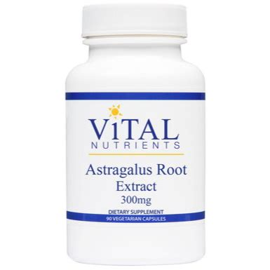 Astragalus Root Detox by Vital Nutrients Astragalus Extract Formula