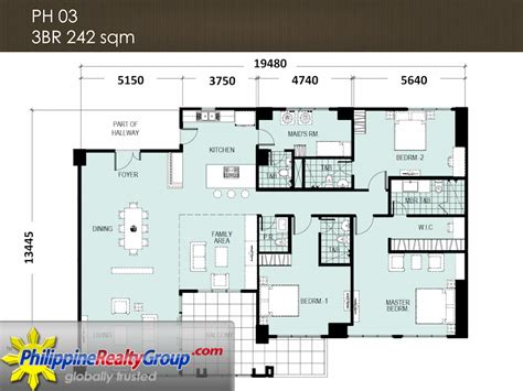 Escala Seattle Floor Plans by Escala Penthouse Floor Plan