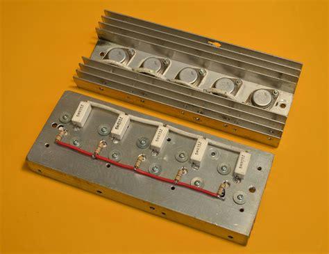 transistor 2n3055 en paralelo construya su videorockola gt lificadores de potencia parte 6