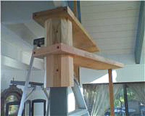 diy wood spiral stairs built  plans