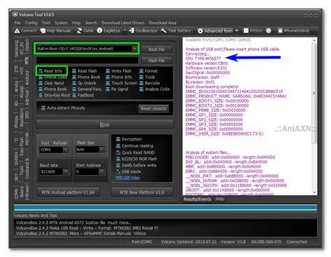 swipe velocity tab pattern unlock done by flashing gsm forum volcano box tool volcano box version 3 0 7 v3 0 7 setup