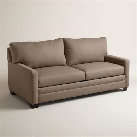 World Market Sleeper Sofa by Textured Woven Holman Upholstered Sleeper Sofa World Market