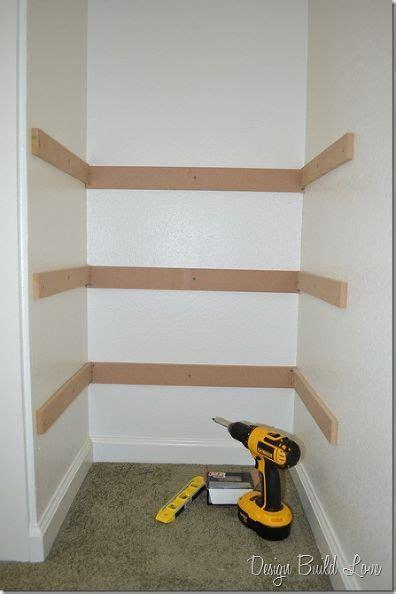 Cheap Easy Closet Ideas by 17 Best Ideas About Diy Closet Shelves On