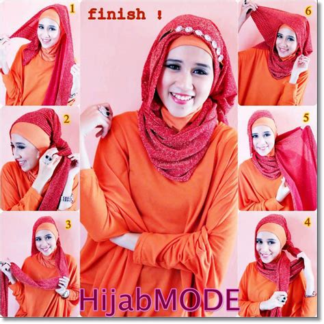 tutorial hijab pashmina headband kreasikan hijabmu dengan tutorial hijab with headband