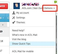 Search Aol Email Address Inside Your Aol Mail Inbox Aol Mail