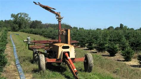 irrigation systems for christmas tree production youtube