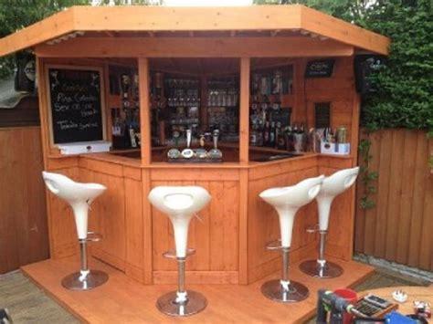 deluxe ft corner bar garden bar entertainment area uk