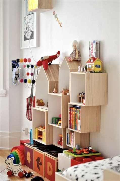 House Shelf by Picture Of Plywood Wall Mounted Boxes And House Shaped Shelves