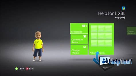changer themes xbox 360 how to change themes on your xbox 360 youtube