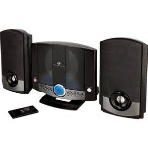 gpx home system gpx hm3817dtblk home system w cd player am fm mp3