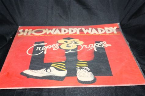 crepes and drapes other tapes lps other formats showaddy waddy crepes