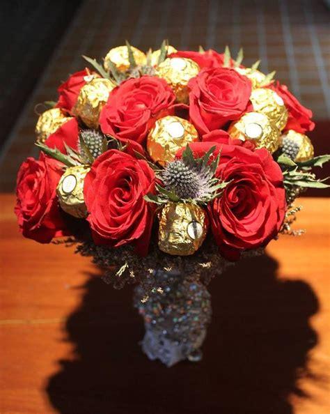 Bouquet Buket Fresh Roses Coklat Ferrero Rocher 17 best images about ferrero rocher bouquet on