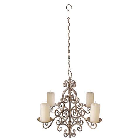 kerzen deckenleuchter esschert designs aged metal chandelier am06