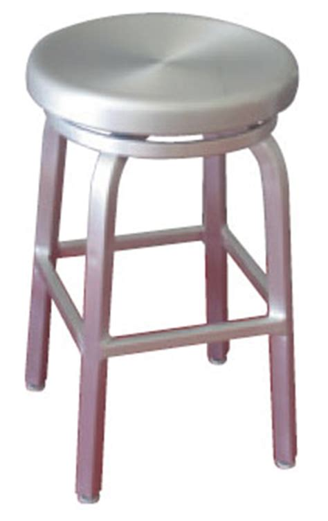 24 Inch Backless Bar Stools by 24 Inch Indoor Outdoor Backless Aluminum Swivel Seat Bar