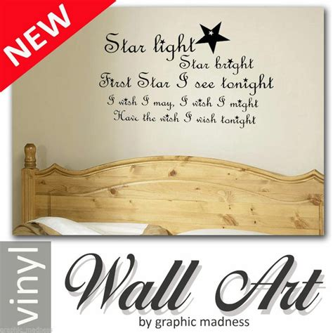 What Rhymes With Bedroom by Light Bright Vinyl Wall Sticker Bedroom