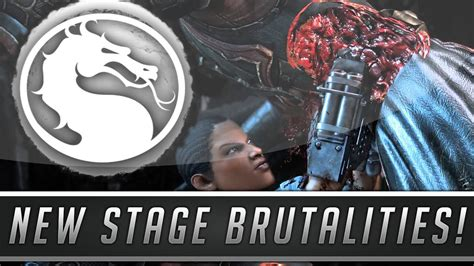 stage banche mortal kombat x secret kove stage brutality all blanche