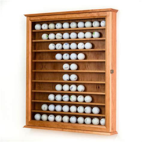 golf ball display cabinets australia cherry golf ball display case wall cabinet cherry hardwood