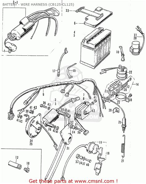 1972 Cb175 Wiring Diagram Online Wiring Diagram