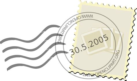 clipart postage stamp
