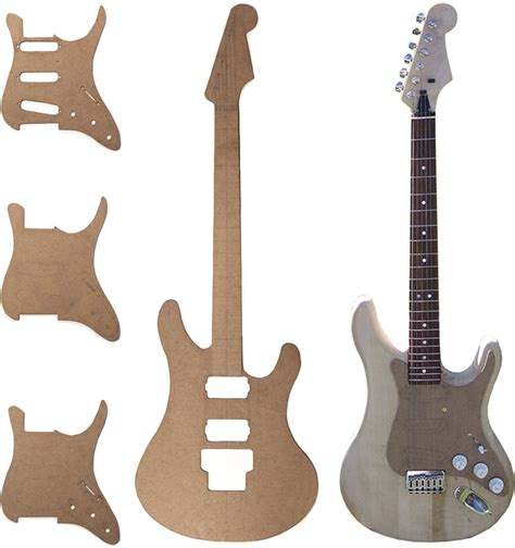 Electric Guitar Templates woodworking electric guitar architecture design