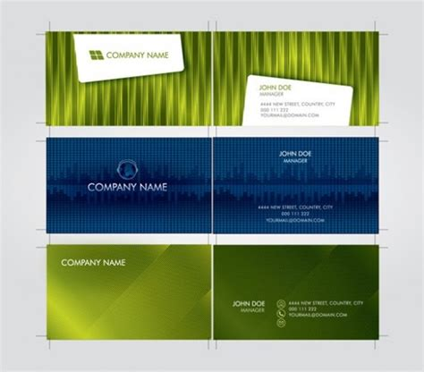 futuristic business card template 3 futuristic business card template vector set welovesolo