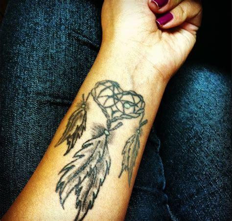 dreamcatcher tattoo not native american my native american tattoo dreamcatcher tattoos