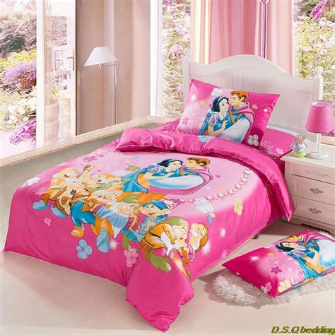 3pcs princess prince character bedding sets
