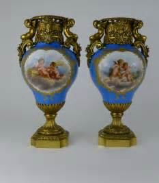 antiques atlas pair 19th c ormolu mounted sevres