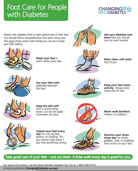 Foot Care foot care for with diabetes wash your in warm