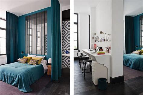 bedroom bureaus chambre avec cloison vir 233 e couleur bleu canard bureau blanc chambre adulte master