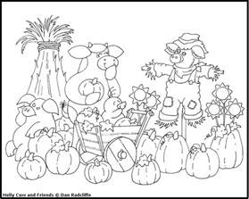 harvest coloring pages cow s world