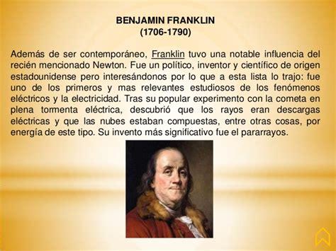 biography of benjamin franklin resumen fil 243 sofos y sus aportaciones