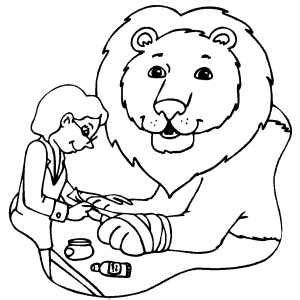 coloring pages veterinarian at veterinarian coloring page
