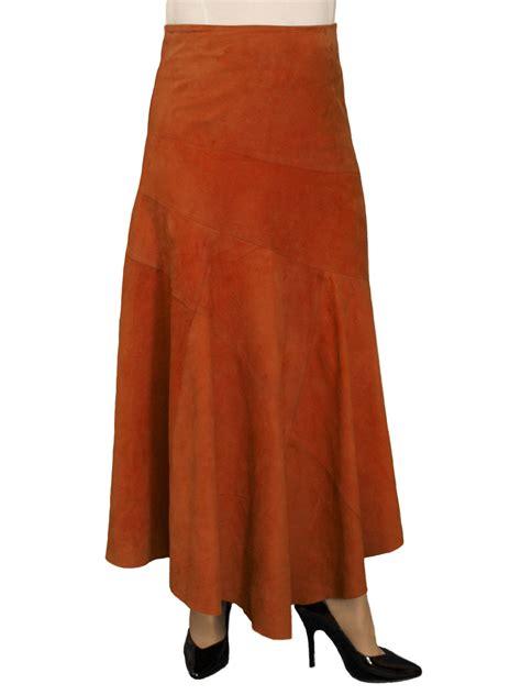 suede asymmetric skirt midi length 6 colours