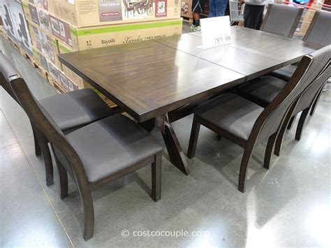 bayside furnishings xander 7 dining set