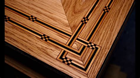how to a table how to inlay a table top coffee table part 4 se
