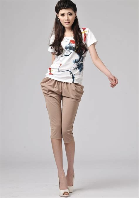 harem pants asian fashion easternserenitycom khaki trendy harem pants asian fashion summer collection