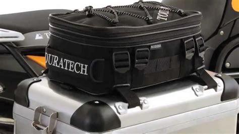 touratech pannier top bag review youtube