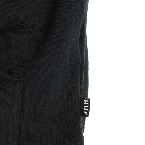 Hoodie Huf Logo Black Original huf original logo pullover hoodie black