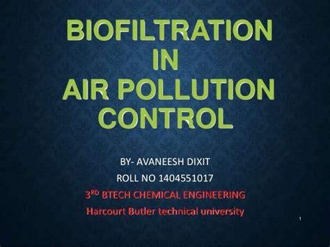 biofiltration for air pollution books biofiltration