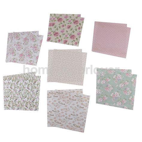 Craft Paper Sheets - 24 sheets scrapbooking paper craft diy card photo