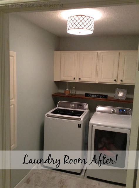 Diy Laundry Room by Diy Laundry Room Makeover A Buck